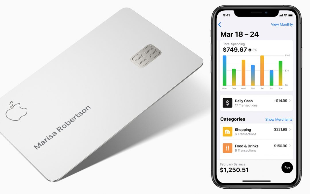 New Apple Credit Card providing pretty substantial rewards