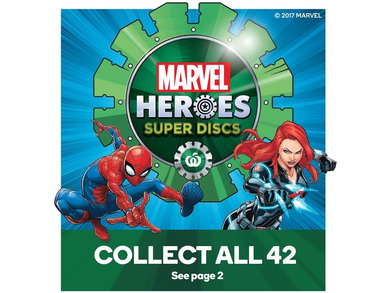 Woolworths Marvel Super Discs provide a loyalty lesson to Woolworths Rewards