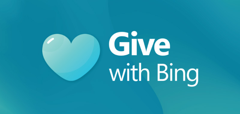 Give with Bing: Charity through loyalty